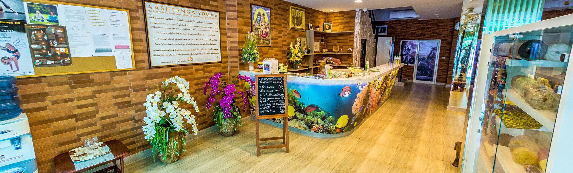 The first dedicated yoga store in Pattaya.